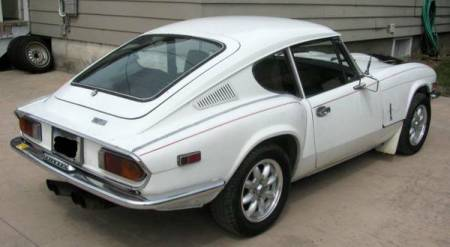 1972 Triumph GT6 Mark III right rear