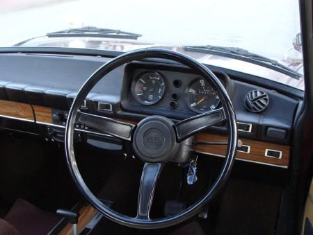 1973 DAF 66 SL interior