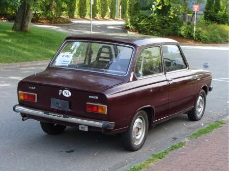 1973 DAF 66 SL right rear