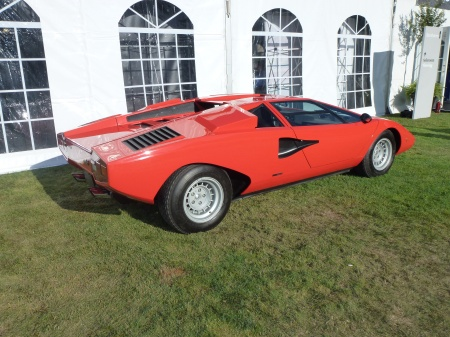 1974 Lamborghini Countach right rear