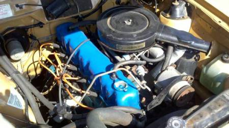 1975 AMC Hornet engine