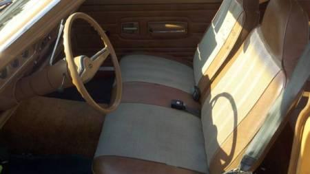 1975 AMC Hornet interior