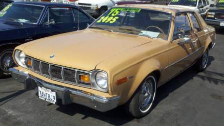 1975 AMC Hornet left front