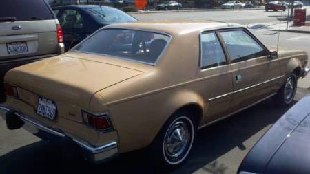 1975 AMC Hornet right rear