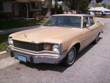 1978 AMC Matador left front