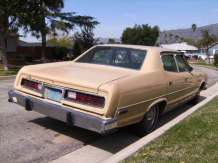 1978 AMC Matador right rear