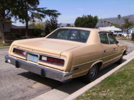 1978 AMC Matador right rear