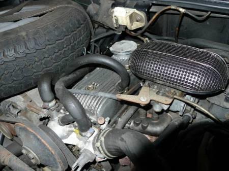 1978 Renault LeCar engine