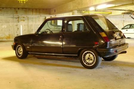 1978 Renault LeCar left rear