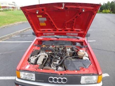 1987 Audi 4000 engine