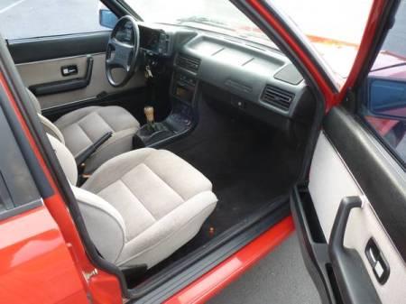 1987 Audi 4000 interior