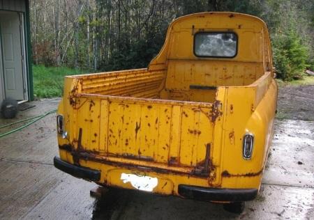 1959 Morris J2 pickup right rear