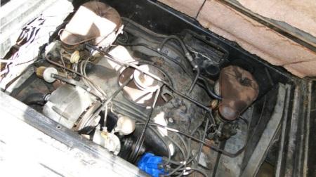 1961 Chevrolet Corvair 95 van engine
