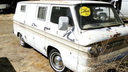 1961 Chevrolet Corvair 95 van right front