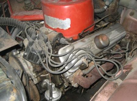 1962 Oldsmobile F-85 engine
