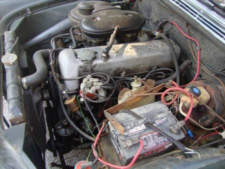1967 Mercedes 250S engine