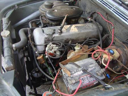 1967 Mercedes 250S engine