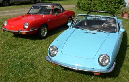 1968 Fiat 850 pair left front