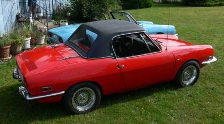1968 Fiat 850 pair right rear 1