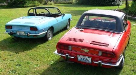 1968 Fiat 850 pair right rear 2