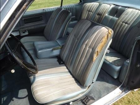 1968 Oldsmobile Toronado interior