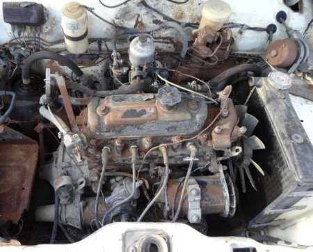 1969 Austin America engine