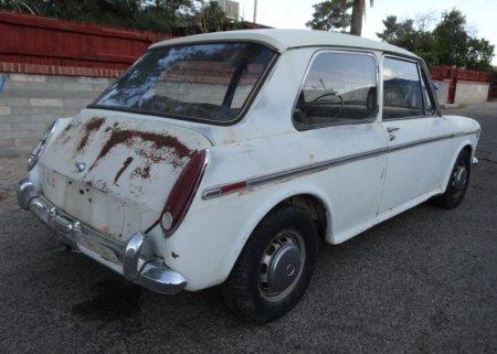 1969 Austin America right rear