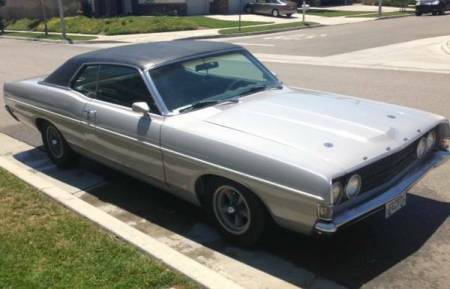 1969 Ford Fairlane GT right front