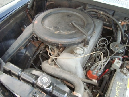 1969 Mercedes 250 engine