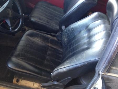 1970 BMW 2002 interior