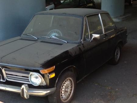 1970 BMW 2002 left front