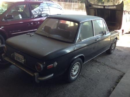1970 BMW 2002 right rear