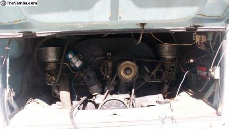 1971 VW Type 2 Bus engine