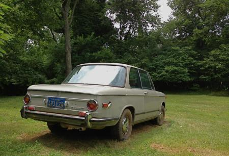 1972 BMW 2002 right rear