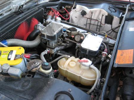 1972 BMW Bavaria engine