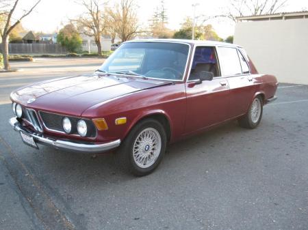 1972 BMW Bavaria left front