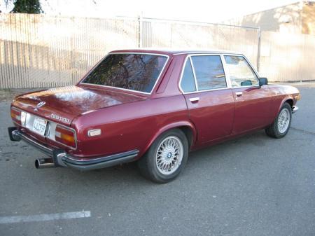 1972 BMW Bavaria right rear