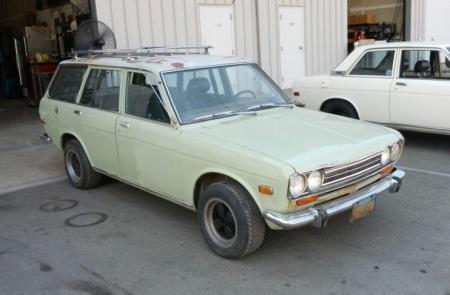 1972 Datsun 510 wagon right front