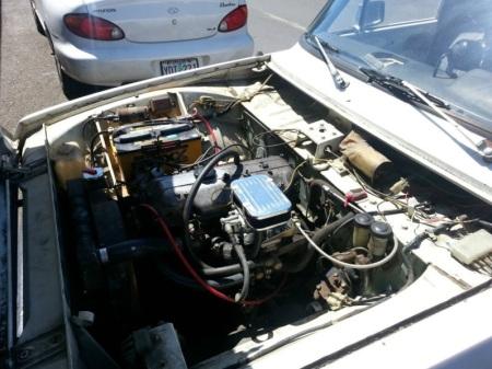 1972 Mazda B1600 engine