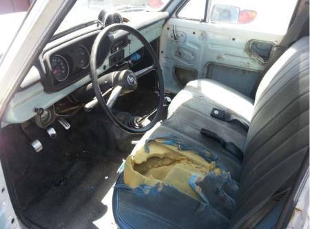 1972 Mazda B1600 interior