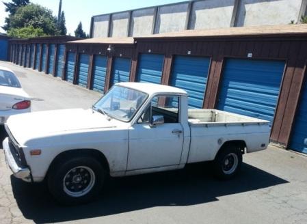 1972 Mazda B1600 left front
