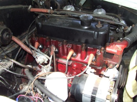 1972 MGB engine