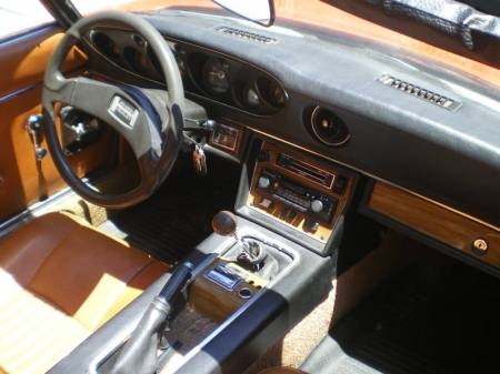 1974 Jensen Healey interior
