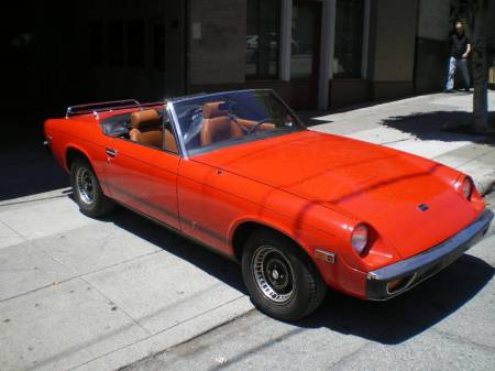 1974 Jensen Healey right front