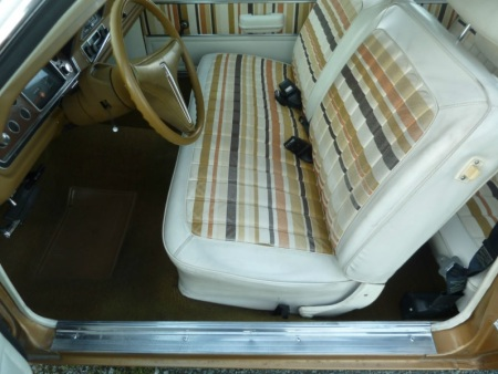 1974 Plymouth Gold Duster interior