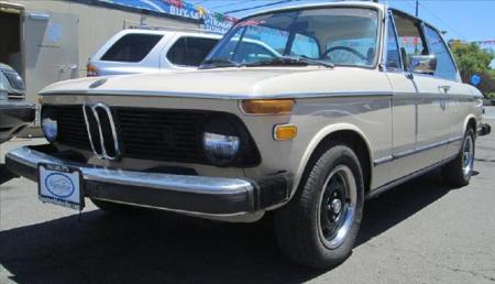 1975 BMW 2002 automatic left front