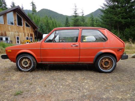 1975 Volkswagen Rabbit left
