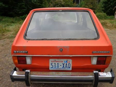 1975 Volkswagen Rabbit rear
