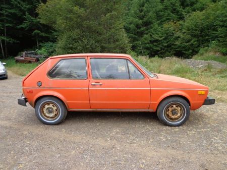 1975 Volkswagen Rabbit right
