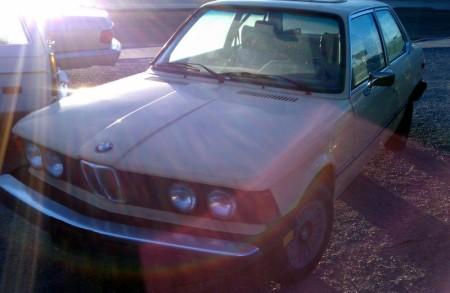1977 BMW 320i left front